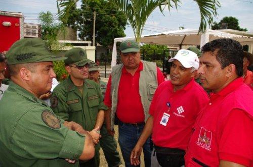 General Cliver Alcala en la Jornada Humanitaria realizada en la ETRPAAP en el municipio Juan Jose Mora