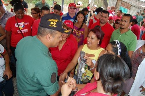 El General Cliver Alcala en la Jornada Humanitaria en el Municipio Naguanagua