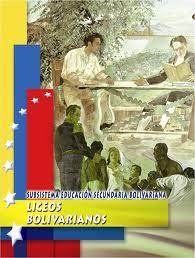 Liceos Bolivarianos: Currículo
